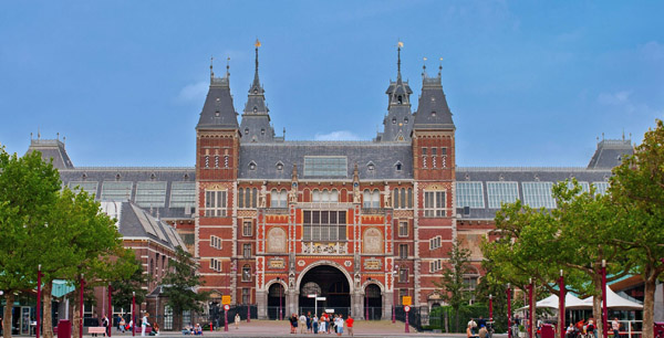 Rijksmuseum in Amsterdam - Holland