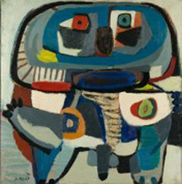 Painting from Karel Appel