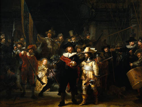 The Night Watch from Rembrandt van Rijn
