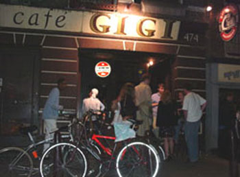 Cafe GiGi in Amsterdam in the Netherlands