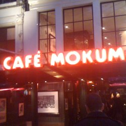 Cafe Mokum on the Leidseplein