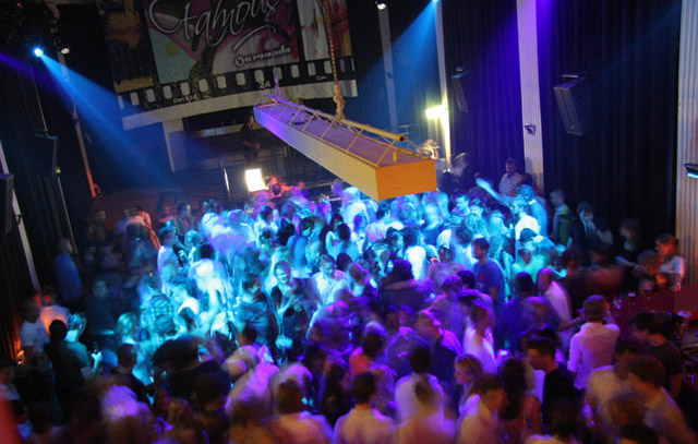 Club Odeon in Amsterdam in the Netherlands