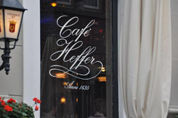 Grand Café Heffer in Amsterdam in the Netherlands