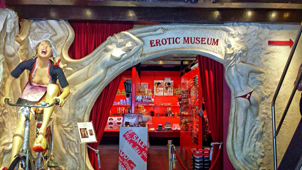 Erotic Museum in Amsterdam on the Red Light District