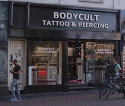 Body Cult Tattoo and Piercing studio in Amsterdam Reguliersbreestraat