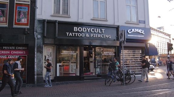 Tattoo studio Body Cult - Reguliersbreestraat in Amsterdam