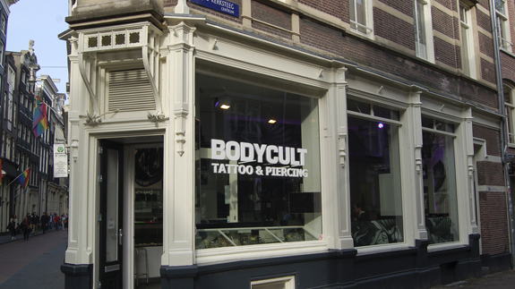Tattoo studio Body Cult in Amsterdam