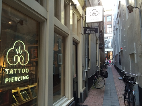 Classic Ink and Mods Tattoo studio in Amsterdam