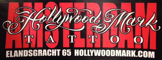 Tattooshop Hollywood Markt in Amsterdam