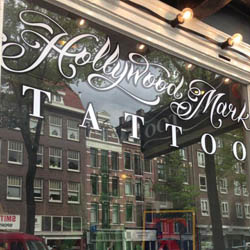Tattooshop Hollywood Mark in Amsterdam
