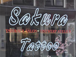 Tattoo studio Sakura Tattoo in Amsterdam