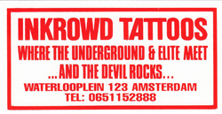 Tattoo shop Inkrowd Tattoos in Amsterdam