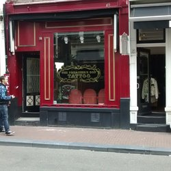 Tattoo shop The Preachers Son in Amsterdam